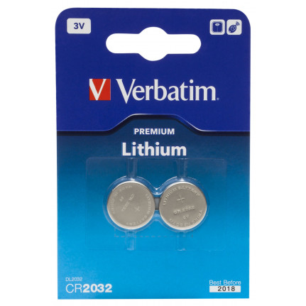 VERBATIM Lithium Battery CR2032