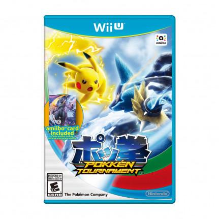 Nintendo Pokkén Tournament + 1 carte Amiibo (Wii U)