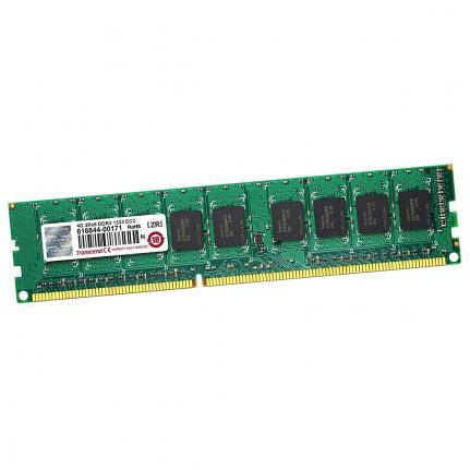 TRANSCEND DDR3 4Go DIMM 240b 1333 (ECC)  DDR3 4 Go DIMM 240 broches 1333 MHz / PC310600 CL9 1.5 V memoire sans tampon ECC