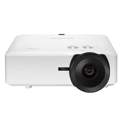 Viewsonic WUXGA (1920x1200), Laser Phosphore, 5000 lumens, contraste 3 000 000:1, ratio de projection 0.81-0.89, zoom optique 1.1x, compatible 3D, technologie exclusive SuperColor, trapèze H. et V., 2x HDMI, 1x VGA, 1x composite, 1 entrée audio, 1x RCA, 1