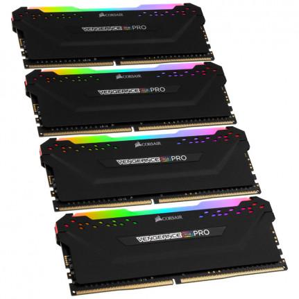CORSAIR Vengeance RGB PRO Series 32 Go (4x 8 Go) DDR4 3200 MHz CL16