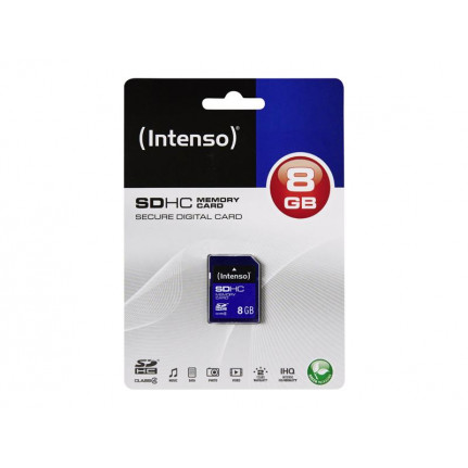 INTENSO Secure Digital SDHC Card 8 GB