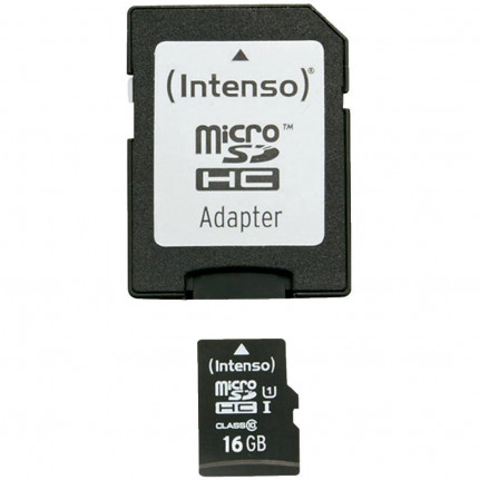 INTENSO microSDHC 16 GB Class 10 UHS-I