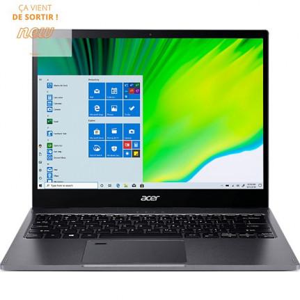 """ACER Ordinateur portable  Spin SP513-54N-75Z7 Noir Intel Core i7  -  13.5"""""""