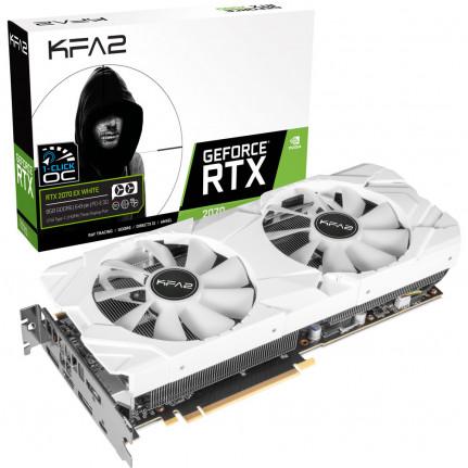 KFA2 GeForce RTX 2070 EX one Clic OC White