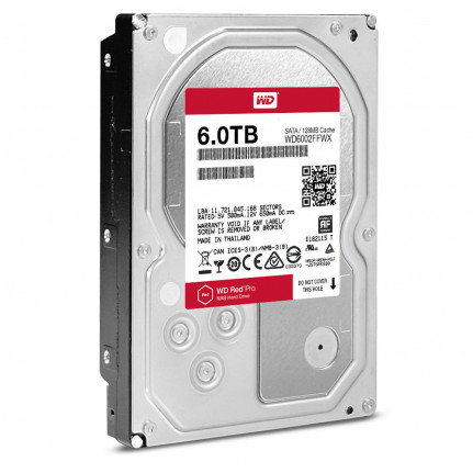 """WD Red Pro 4 To SATA 6Gb/s - Disque Dur 3,5"""" 4 To 128 Mo Serial ATA 6Gb/s 7200 RPM - WD4002FFWX (bulk)"""