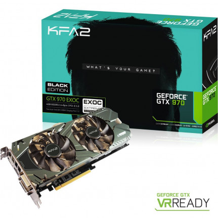 GeForce GTX 970 KFA2 EXOC Black Edition 4 Go