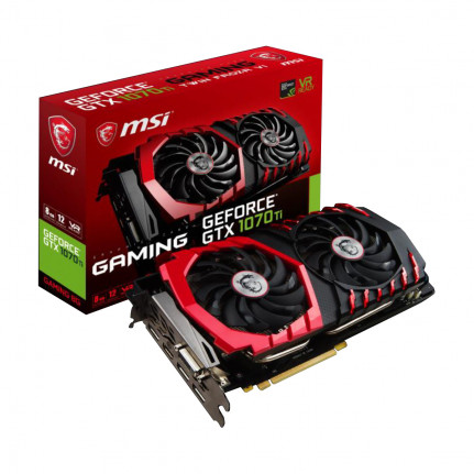 MSI Carte graphique MSI GeForce GTX 1070 Ti GAMING 8G