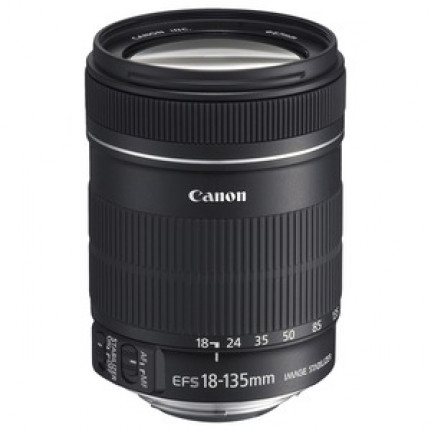 Objectif Canon EF-S 18-135mm f/3.5-5.6 IS Zoom transtandard stabilisé