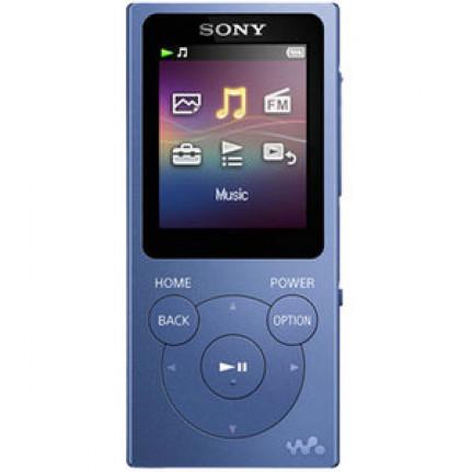 Lecteur MP3 Sony NW-E393 Bleu avec écran 4.5cm FM USB 4 Go