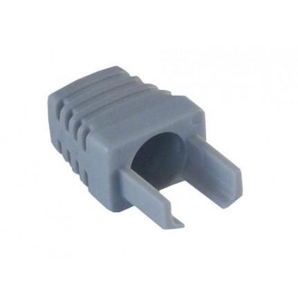 MCL Manchon plastique 6mm pour RJ45 - Gris