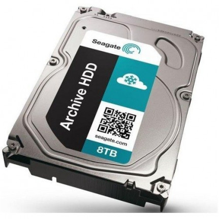 "Seagate Archive HDD ST6000AS0002 - Disque dur interne - 3,5"" - 6 To - SATA 6Gb/s - 5900 tr/min - Cache 128 Mo"