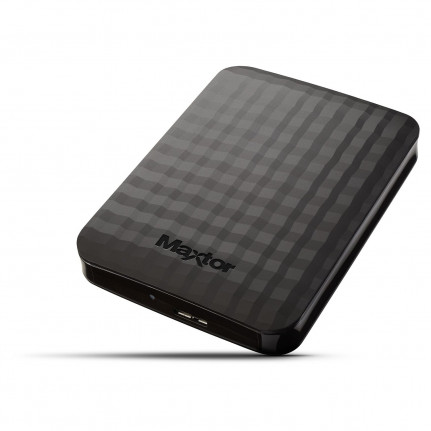 Maxtor Disque dur externe portable M3 1 To USB 3.0 Noir