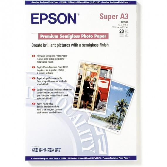 EPSON Ultra Glossy Photo Paper - C13S041261 - Papier photo Ultra Glacé 10 x 15 cm 300g/m² (20 feuilles)