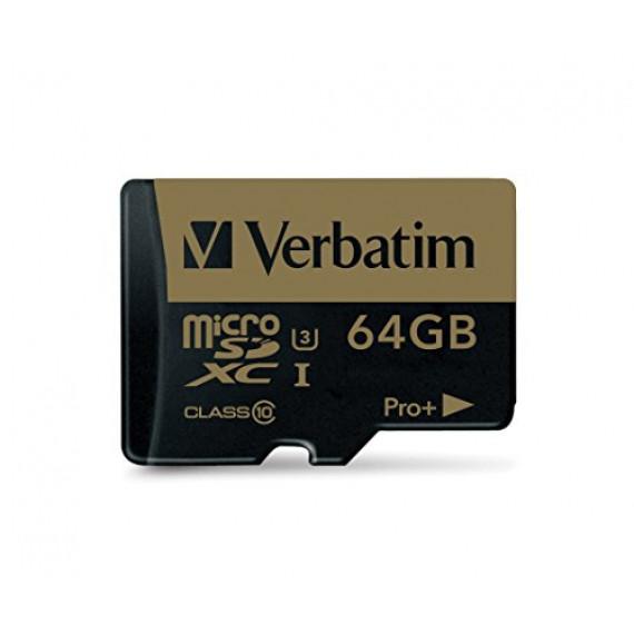 VERBATIM Pro+ 64 GB microSDXC