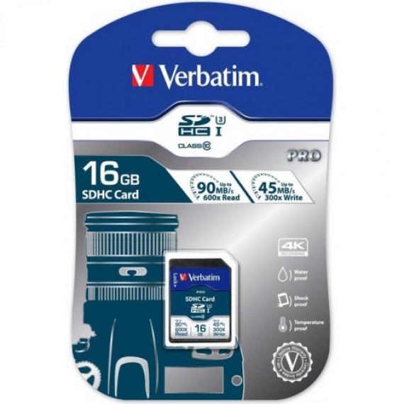 VERBATIM Pro 16 GB SDHC