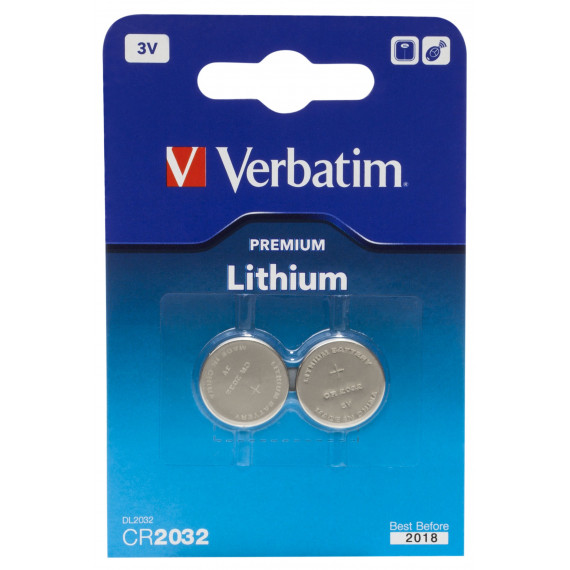 VERBATIM Lithium Battery CR2032