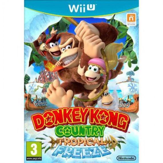 Nintendo Donkey Kong Country : Tropical Freeze (WII U)