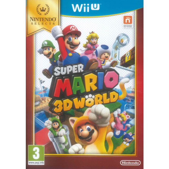NINTENDO SUPER MARIO 3D WORLD - Wii U