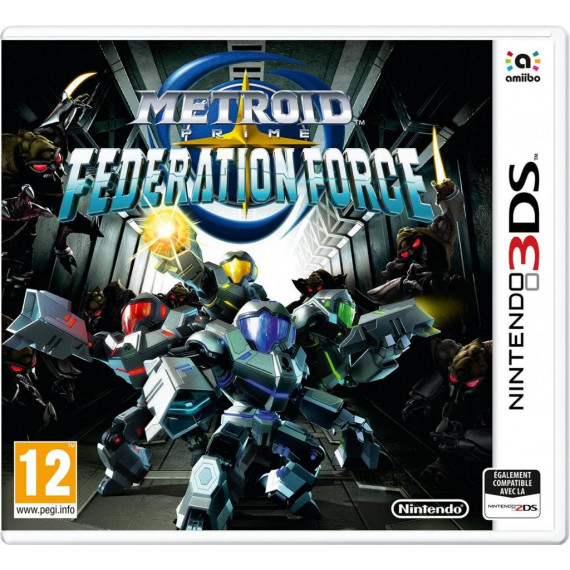 NINTENDO METROID PRIME FEDERATION 3DS