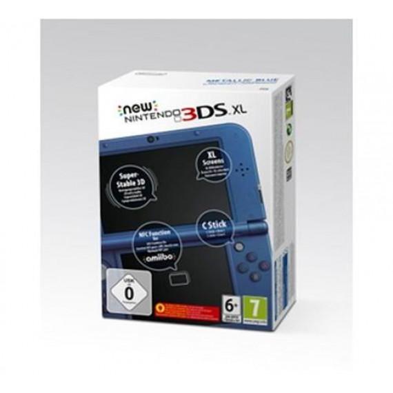 Nintendo Nintendo New 3DS (noire) - Console de jeux-vidéo portable tactile 3D à deux écrans