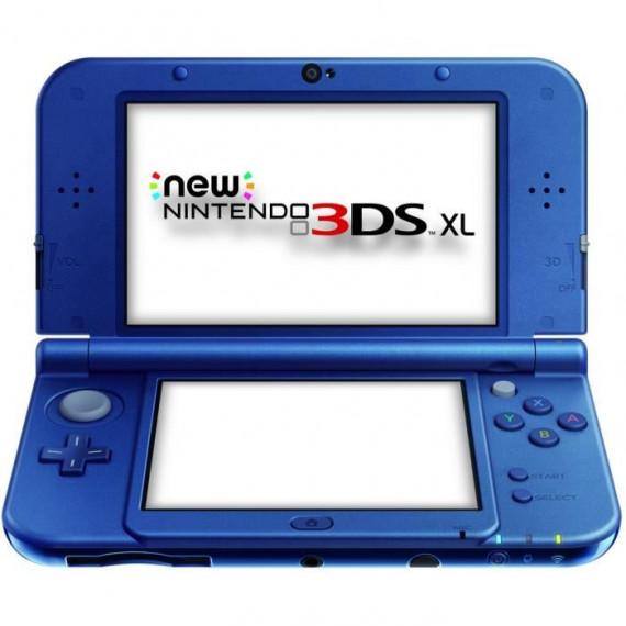 NINTENDO CSL 3DS XL BLEU METAL
