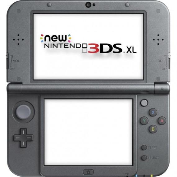Nintendo Nintendo New 3DS XL (noire) - Console de jeux-vidéo portable tactile 3D à deux écrans larges