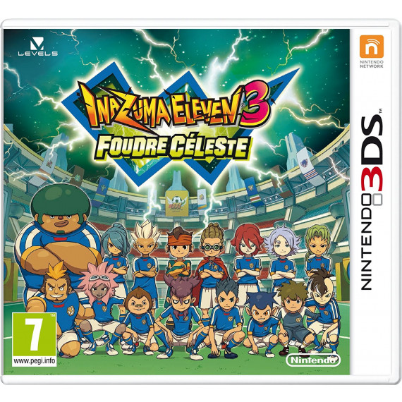 Inazuma Eleven 3 : Feu Explosif  (Nintendo 3DS/2DS)