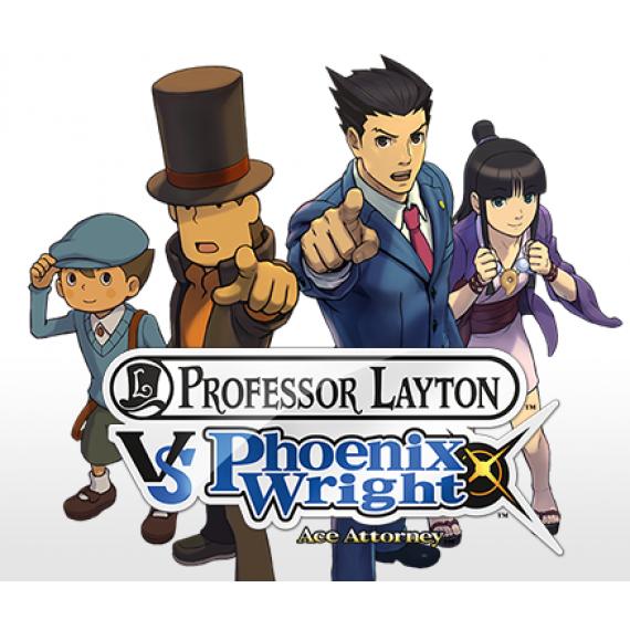 Nintendo Professeur Layton vs Phoenix Wright : Ace Attorney (Nintendo 3DS/2DS)
