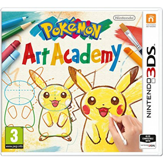 Pokemon Art Academy (Nintendo 3DS/2DS)