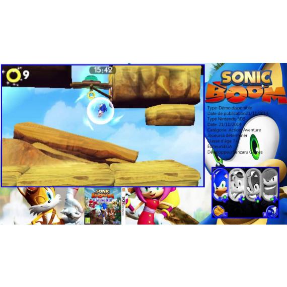 Sonic Boom : Le Cristal Brisé (Nintendo 3DS/2DS)