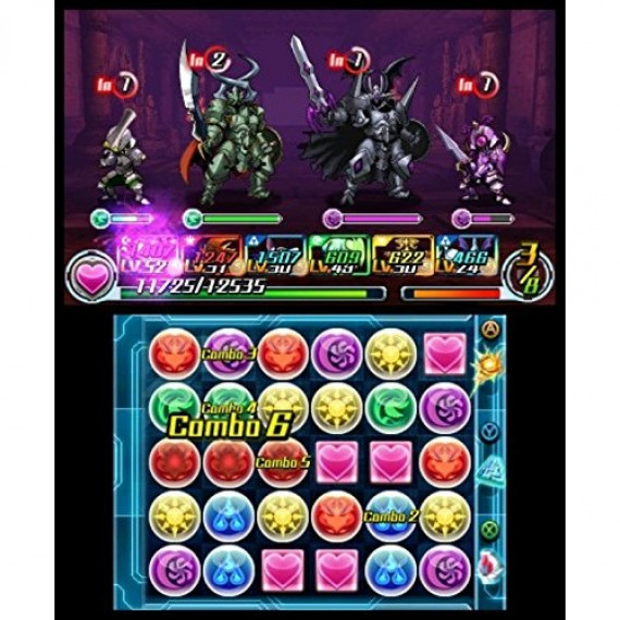 NINTENDO PUZZLE ET DRAGONS 3DS