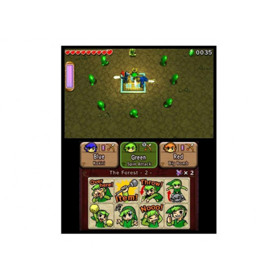NINTENDO ZELDA TRI FORCE HEROS 3DS