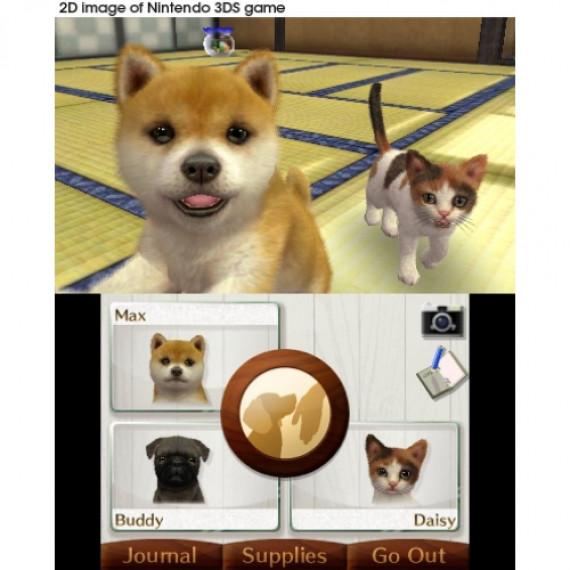 NINTENDO NINTENDOGS CATS BOULEDOGUE 3DS