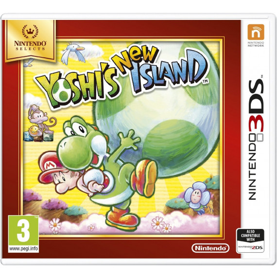 NINTENDO YOSHI'S NEW ISLAND 3DS
