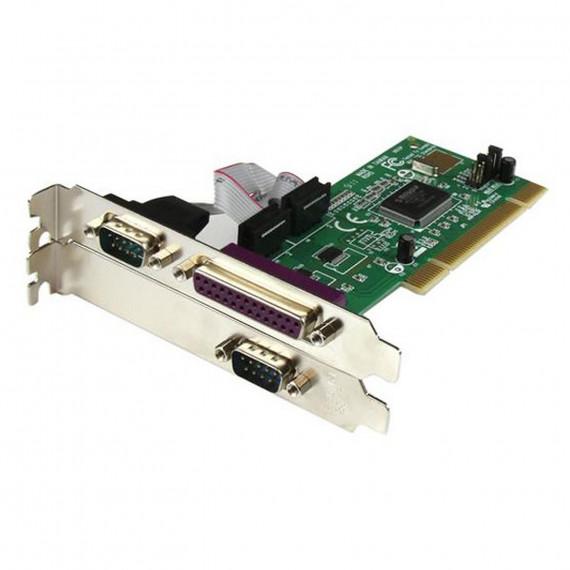 STARTECH Carte PCI avec 2 ports Série RS232 et 1 port Parallèle - Adaptateur Série - UART 16550