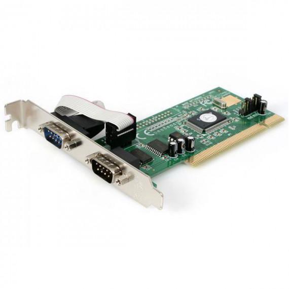 STARTECH Carte PCI avec 2 ports DB-9 - UART 16550