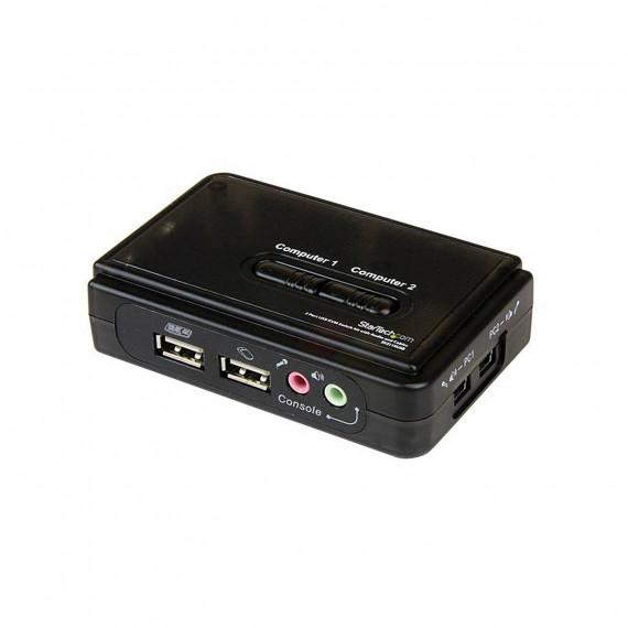 STARTECH Commutateur KVM 2 Ports VGA, USB et Audio