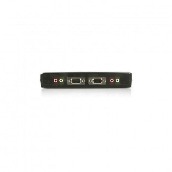 STARTECH Kit commutateur noir KVM USB 4 ports avec audio