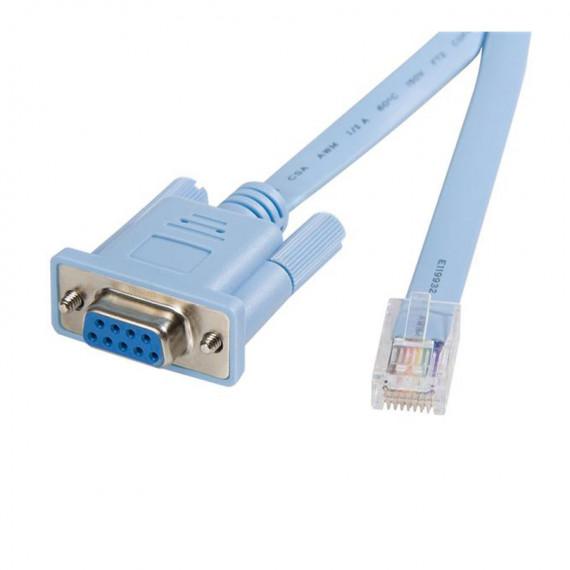 STARTECH Câble console RJ45 vers DB9 pour routeur Cisco (1.8 mètres)