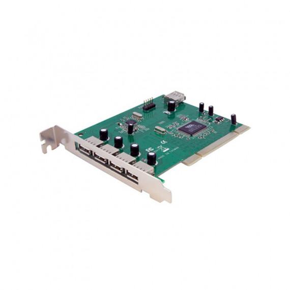 STARTECH Carte PCI vers 4 ports USB 2.0 externes + 3 ports USB 2.0 internes