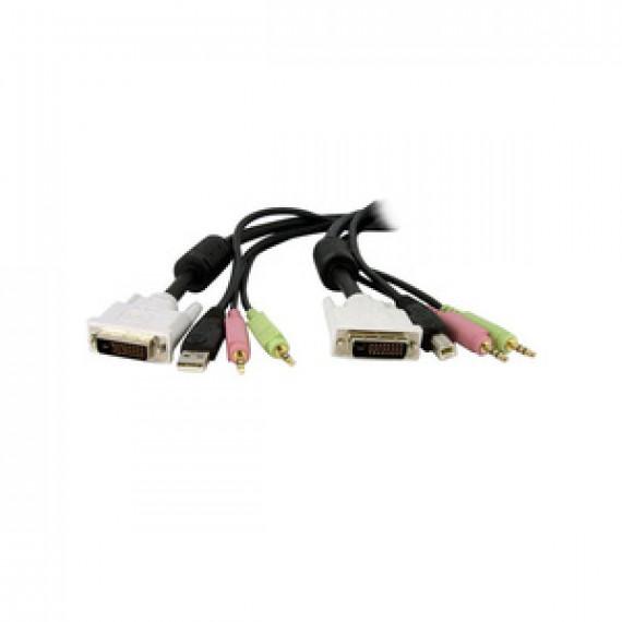 STARTECH Câble de commutateur KVM DVI-D Dual Link USB