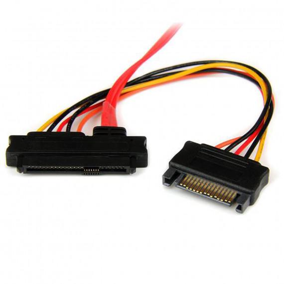 STARTECH Câble mini SAS (SFF-8087) vers 4x Alimentation SATA (15 broches) et 4x SAS (SFF-8482) - 50 cm
