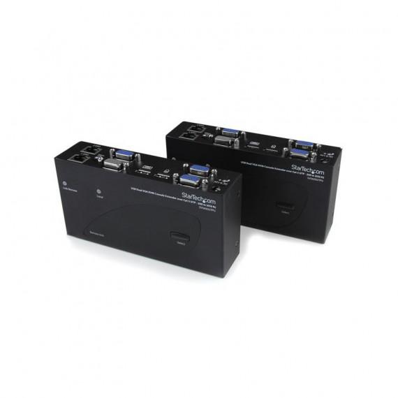 STARTECH Extendeur de console KVM USB VGA double 200m 2x RJ45