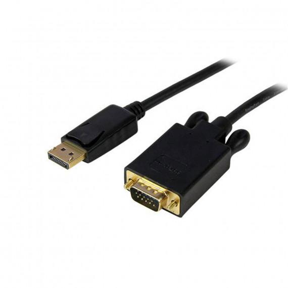STARTECH Adaptateur DisplayPort vers VGA (Mâle/Mâle) - 1.8m