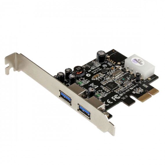 STARTECH CARTE CONTRÔLEUR PCI-EXPRESS 1X AVEC 2 PORTS USB 3.0 AVEC UASP