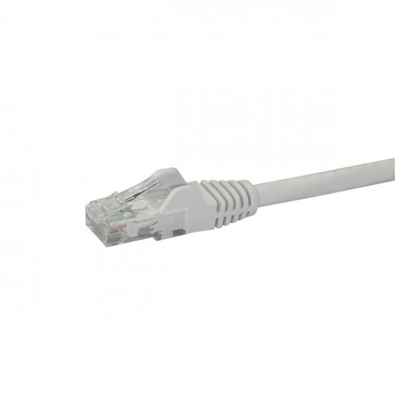 STARTECH 1M CAT6 WHITE SNAGLESS GIGABIT