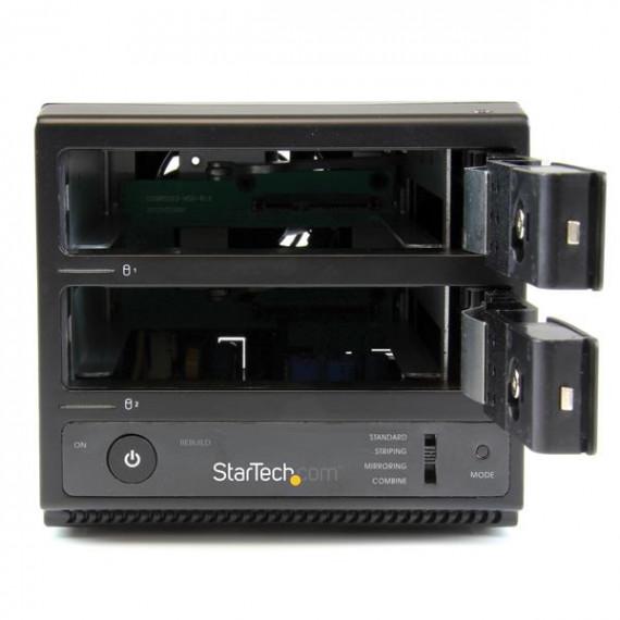 """STARTECH StarTech.com Boîtier USB 3.0 / eSATA sans tiroir pour 2 disques durs SATA III 3,5"""" 6Gb/s"""