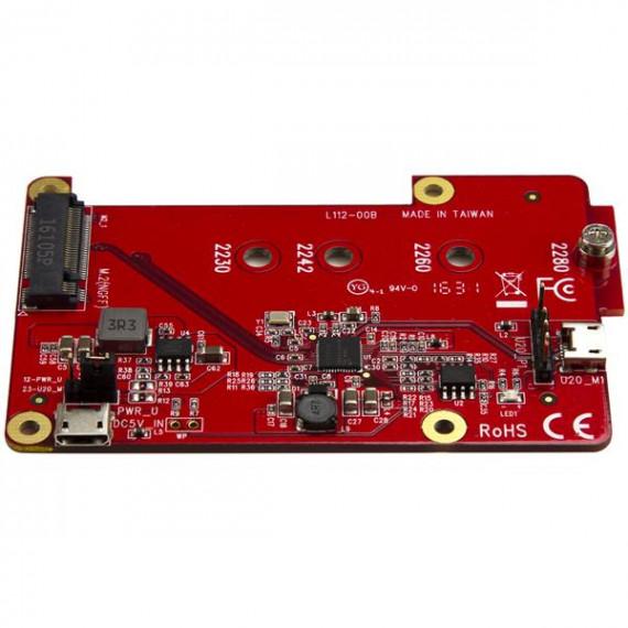 STARTECH StarTech.com Convertisseur USB vers mSATA pour Raspberry Pi et les cartes de développement