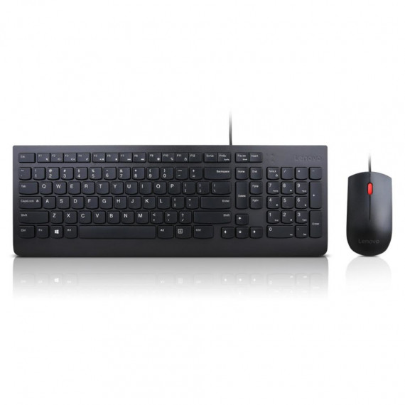LENOVO Ess Wired Kb & Mouse  Essential Wired Keyboard and Mouse Combo